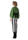 Bluza Verde Cu Maneci Clopot
