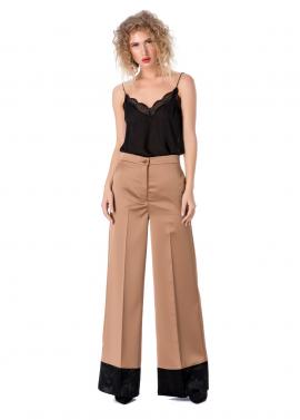 Pantaloni Eleganti cu Textura Satinata