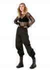 Pantaloni Lungi Cu Elastic In Talie