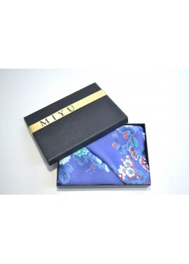 Esarfa Bleu cu Imprimeu Floral