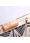 Clutch Elegant cu Efect Perlat