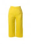 Pantaloni Culottes cu Buzunare