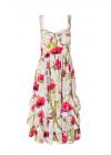 Rochie Cu Bretele Si Print Floral