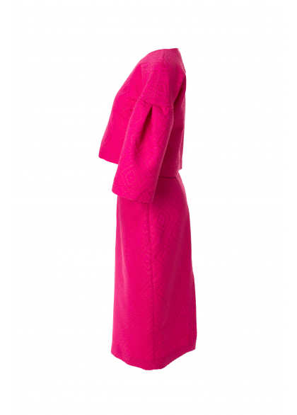 Bluza Roz cu Maneci Ample