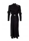 Rochie Neagra Eleganta cu Cordon Detasabil