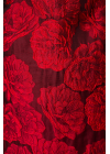 Rochie Rosie Eleganta cu Imprimeu Floral