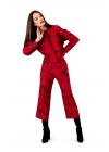 Costum cu Pantaloni Culottes din Brocard