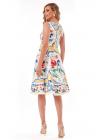 Rochie de Vara cu Imprimeu Multicolor - LIMITED EDITION -