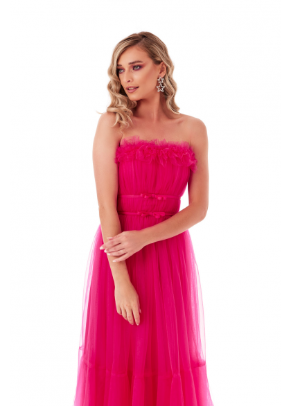 Rochie Tip Corset Din Tulle